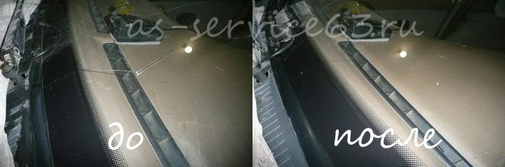 Ремонт трещины на лобовом стекле лекгового автомобиля